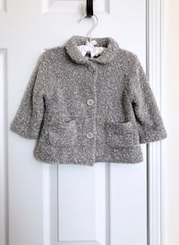 Old Navy baby girl's boucle coat size 6-12 months- worn once Mississauga, L5M 0C5