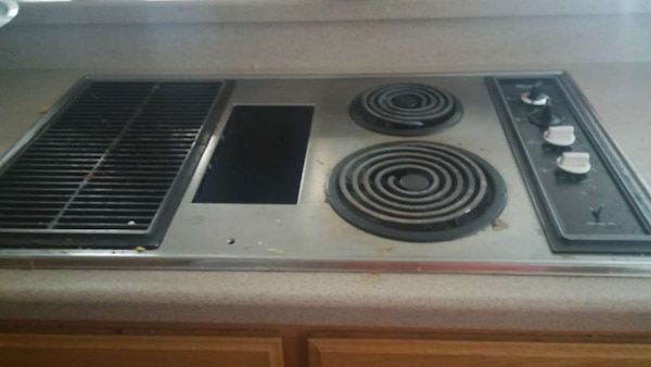 Electric Stove Top W Grill