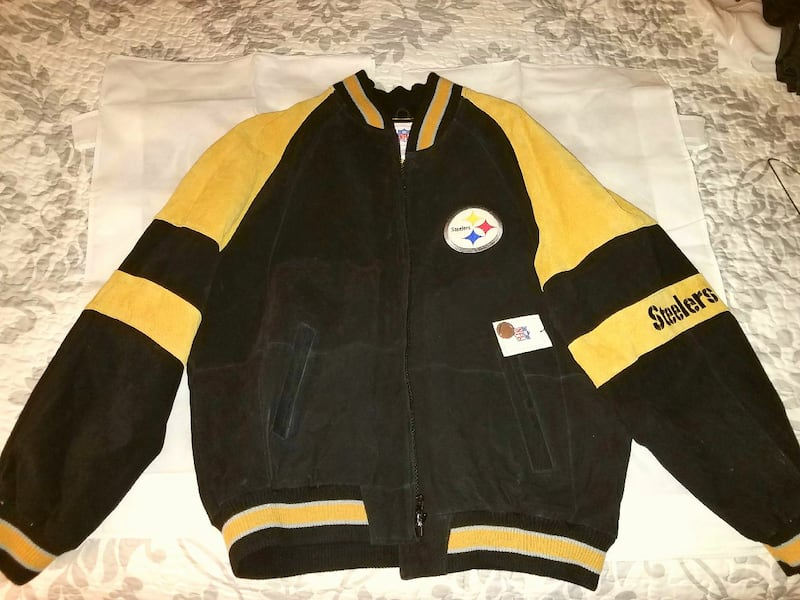 Pittsburgh Steelers XL Leather Jacket - new!   310c7109-ed0e-4744-a0c4-af64cddc6137