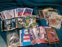 assorted baseball trading card collection London, 43140