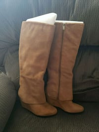 Jessica Simpson tan suede boots size 6 38 km