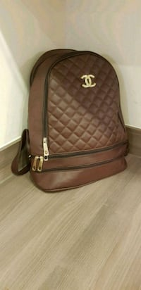 brown leather quilted crossbody bag Sevenoaks, TN13 1FA
