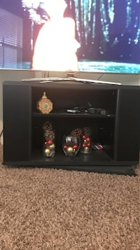 Black wooden tv stand Boise, 83706