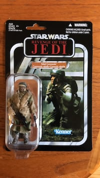 "Rare Misprint ""Revenge Of The Jedi"" Action Figure Burlington, L7N 3B5"