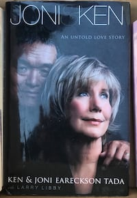 "BOOK:  ""Joni and Ken"", by Ken and Joni Eareckson-Tada Martinsburg, 25401"