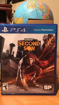 Sony ps4 infamous second son game in excellent condition in original case Oakton, 22124