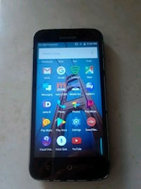 black Samsung Galaxy android smartphone Port Arthur, 77642