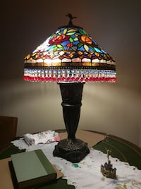 black and red table lamp Stoney Creek, L8G 4A8