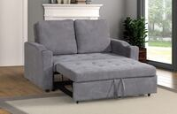 Brand new grey linen sleeper sofa, sofa with pullout bed  Silver Spring, 20902