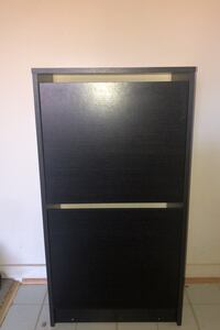 Shoe Cabinet With 2 Compartments.