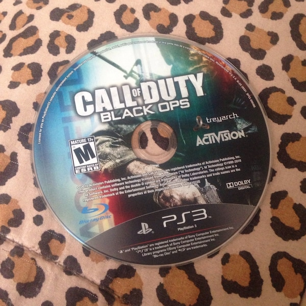 Call of Duty Black Ops Sony PS3 game