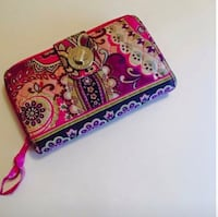 pink and multicolored floral wristlet Northfield, 05663