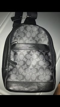 black and gray Coach backpack White Plains, 20695