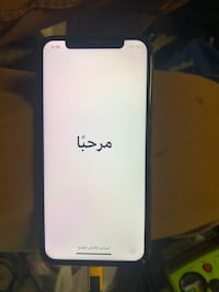 iPhone X 64 gb black. Sprint and boost service