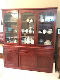 China Cabinet- Solid Wood! Langley, V3A 8N2