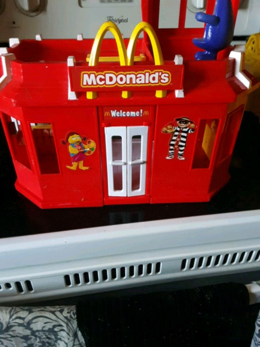 Photo McDonalds playset