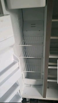 white side by side refrigerator Fort Worth, 76135