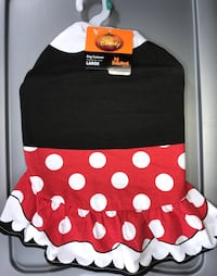 REDUCED!! Brand New w/ Tags Disney Minnie Mouse Dog/Pet Costume Shirt, Size Extra Large, Cute!!