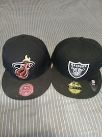 Two 7 5/8 fitted hats