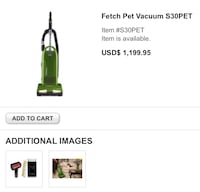 Simplicity fetch vacuum Chesapeake, 23323