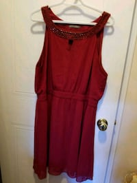 Red dress size 14 Mississauga, L5M 6A9