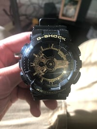 Black and gold g shock Spotsylvania, 22553