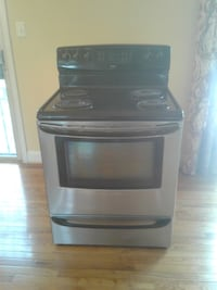 black and gray gas range oven Fort Washington, 20744