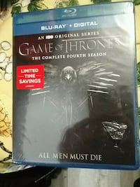 Game of thrones season 4 blu ray Guelph, N1H 1G8