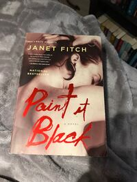 Paint it black by Janet Finch Brampton, L6S 1E9