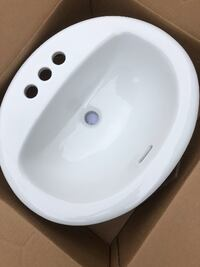 American Standard Oval Sink Pickering