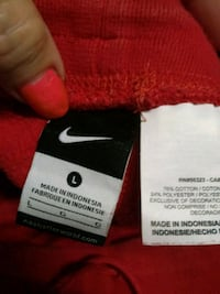 white and red Nike product label Lubbock, 79424
