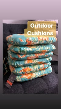 New outdoor patio cushions