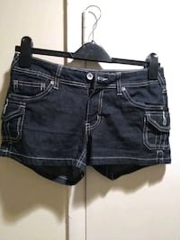 women's blue denim short shorts Washington, 20037