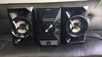 SONY SPEAKERS - Home Audio System