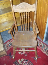Antique childs rocker, as found condition Corbyville