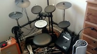 Electronic drum set plus monitor and more Calgary, T2A 1X7