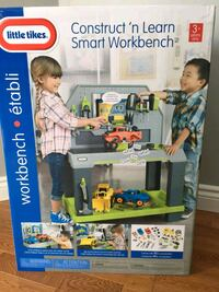Little Tikes Construct 'n Learn Smart Workbench Brampton, L7A 2J9