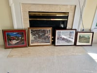 Framed Pictures Herndon, 20170