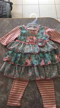 2 piece outfit size 6/9 months Buhl, 35446