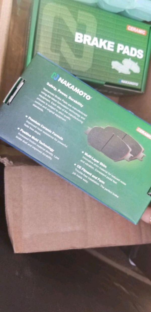 2013 HYUNDAI SONATA BRAKE PADS SET 1