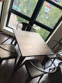 Modern, chic table and chairs Falls Church, 22043