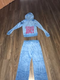 Juicy couture girls tracksuit (top size 10 pants size 8) Pitt Meadows, V3Y 1X6