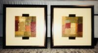 Abstract Art Mounted and Framed San Francisco, 94110