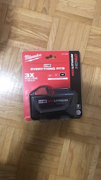 Milwaukee M18 Red lithium HD9.0 battery Mississauga, L5A 2G1