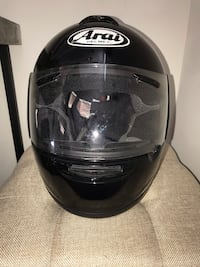 Black ARAI full face helmet Chantilly, 20152