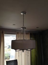 black and white pendant lamp