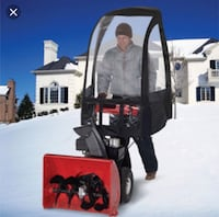 Snowblower cabin...bought for $120 and used one season.  No longer need.  Perfect condition.  Pockets stitched in for holding coffee thermos and other items. Colorado Springs, 80924