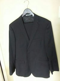DKNY mens suit w striping