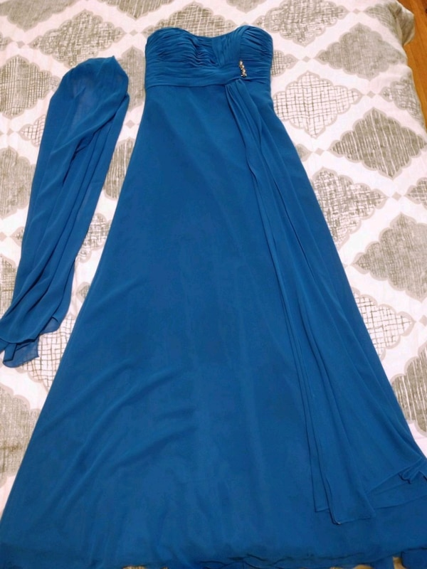 Gorgeous Mori Lee Royal Blue Bridesmaids Dress