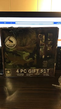 4 pc woodland camo for dogs gift set box Bluff City, 37618